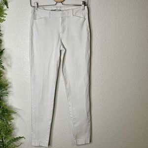 Old Navy Pixie Dress Pants Crop Ankle White 4 Tall